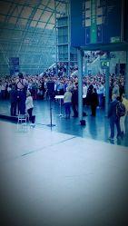 Protestaktion des Spitzenverbandes der Heilmittelerbringer auf der therapie Leipzig