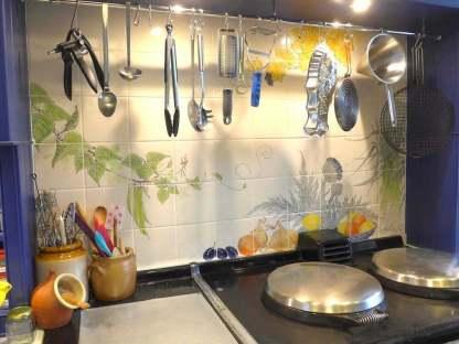 Vegetable Kitchen Aga tiles