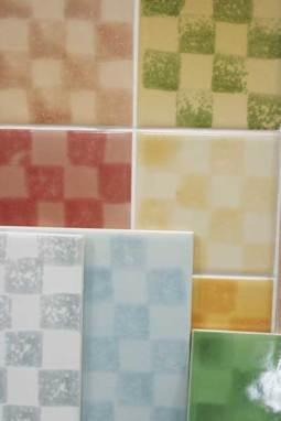 chequer tiles mixed