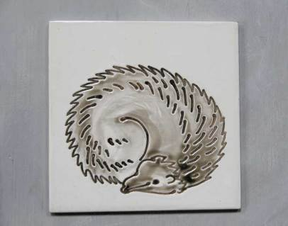 Hedgehog tile