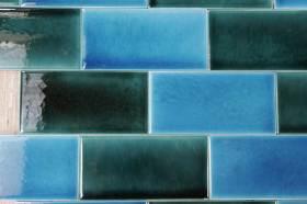 crackle 'brick' tiles