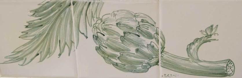 Artichoke/ vegetable tiles