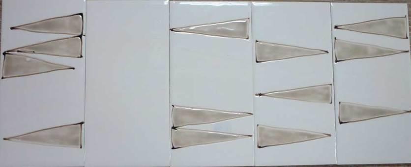 Narrow triangles -tiles.