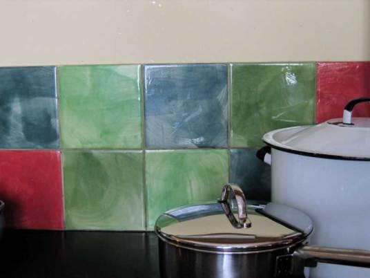 Plain tiles random brush mark