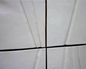 white barred tiles