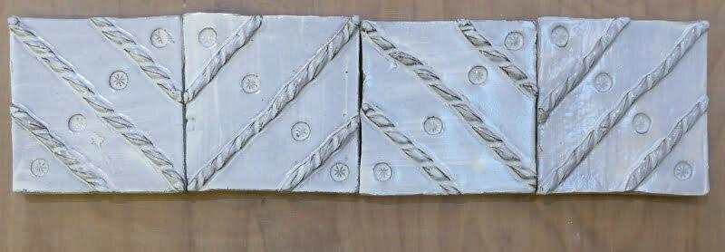 handmade zigzag tiles