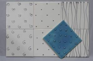 tubeline tiles mixed