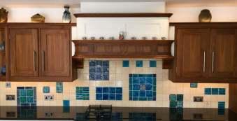 Bespoke clay handmade tiles .