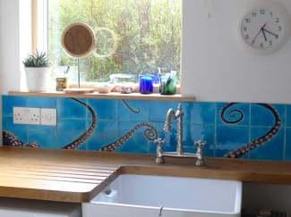 octopus handmade tiles