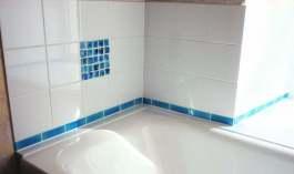 minimalist handmade claybathroom tiles