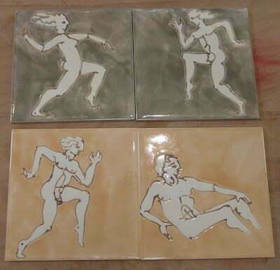 Running figures tiles