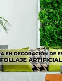 La tendencia en decoración de espacios con follaje artificial