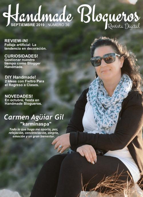 Entrevista a la Youtuber Carmen Agüíar del canal Karminaspa «Revista No. 36»