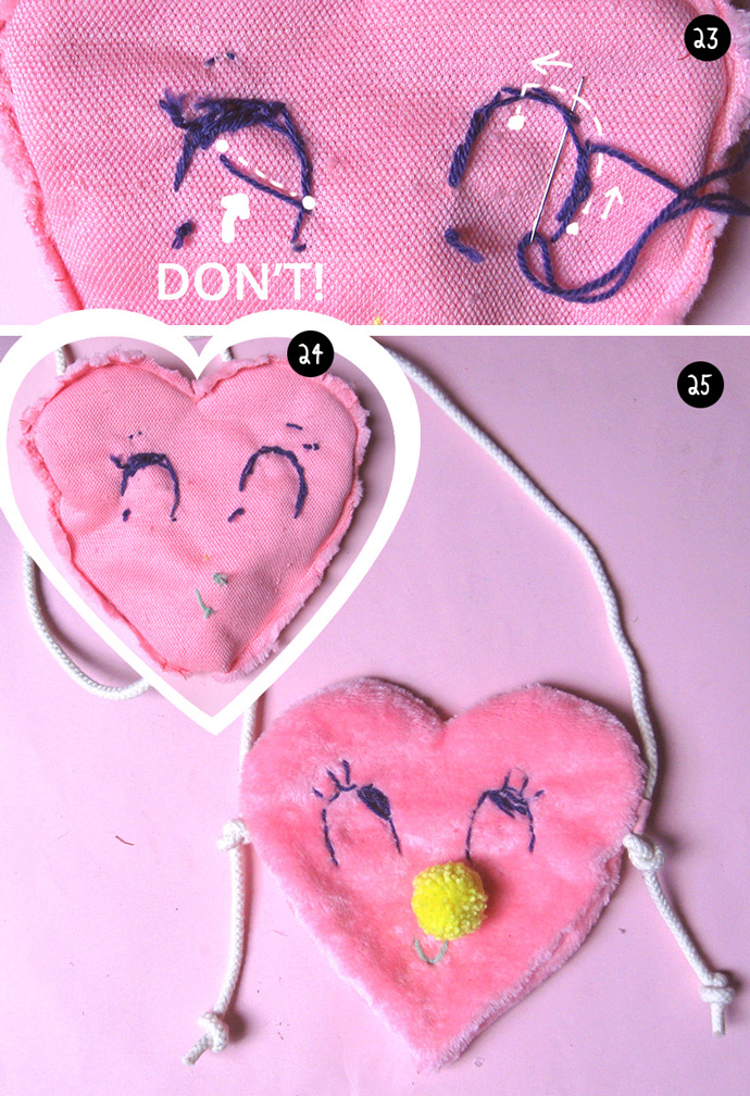 DIY Valentine's Day Bag
