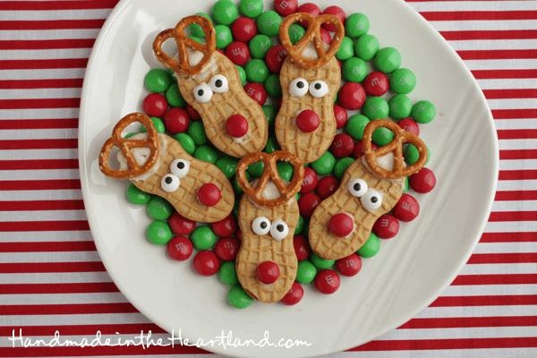 Nutter Butter Reindeers