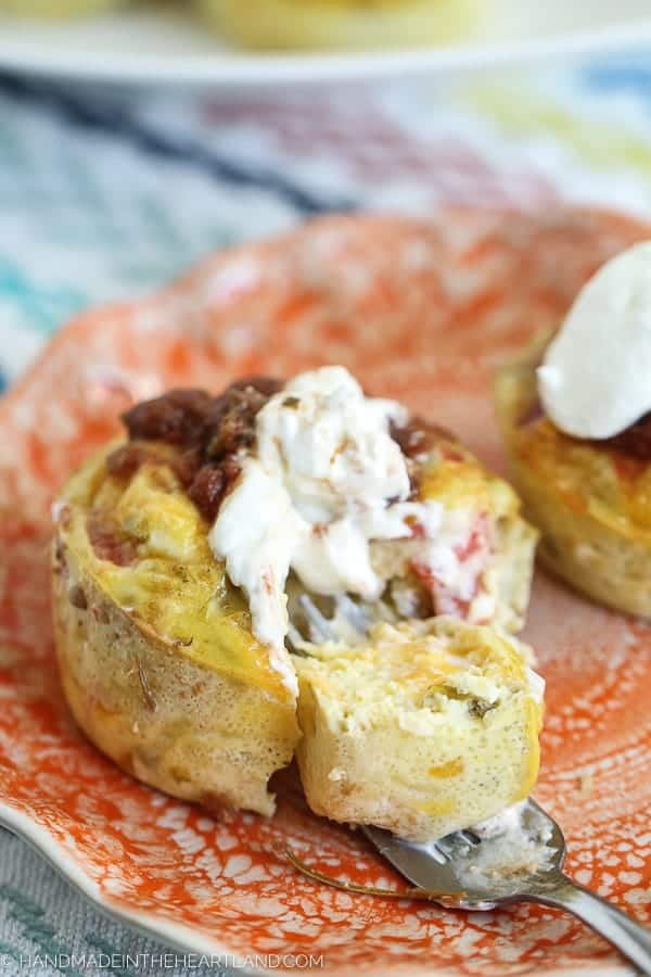 Chiles Rellenos Egg Cups