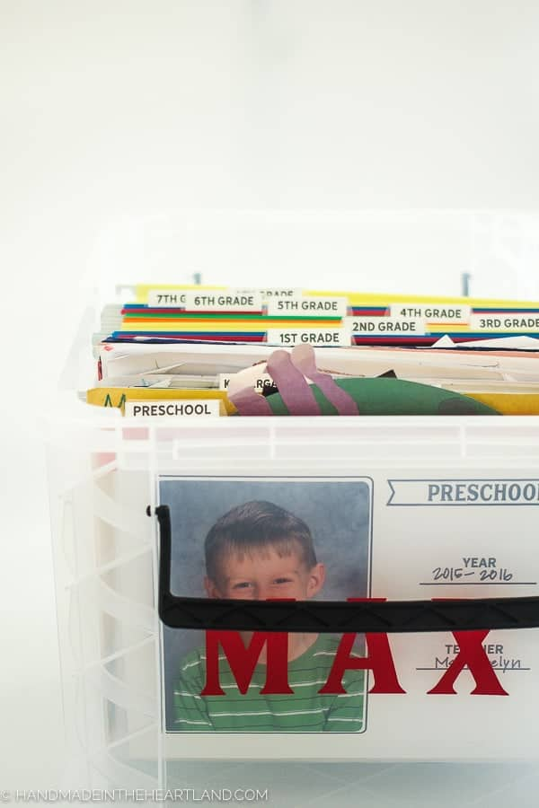 Free School Work Organization Printables