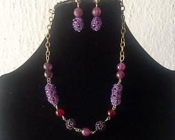 purple beads