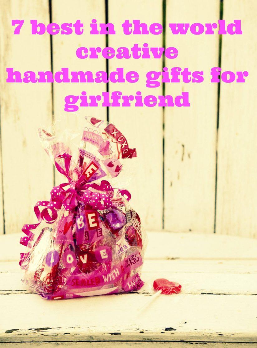 creative handmade gifts for girlfriend