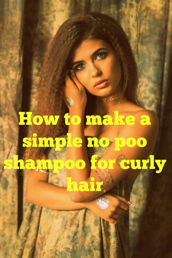 no poo shampoo for curly hair