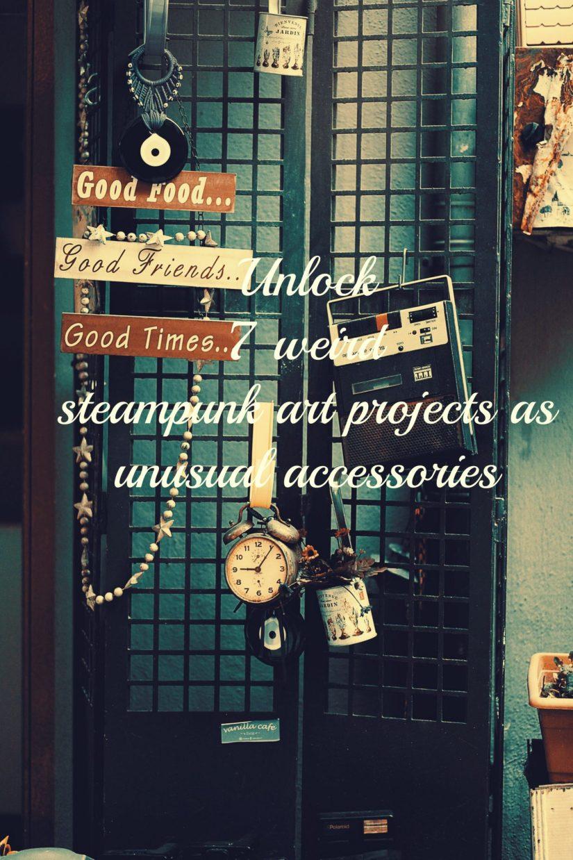 steampunk art projects