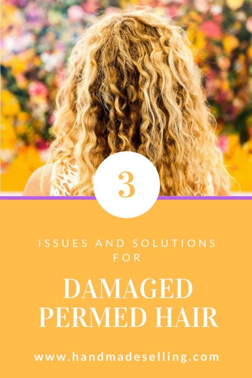 damaged permed hair