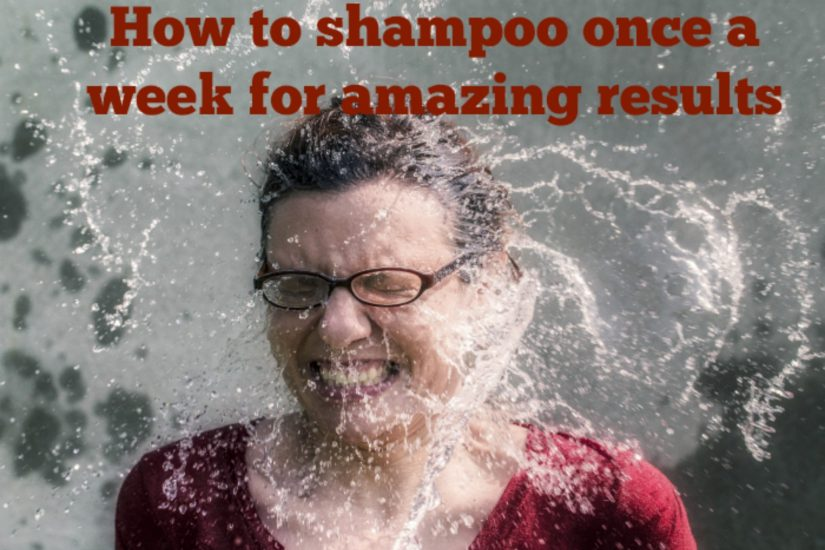 shampoo once a week