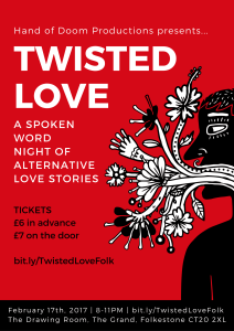 Twisted Love Poster Folkestone