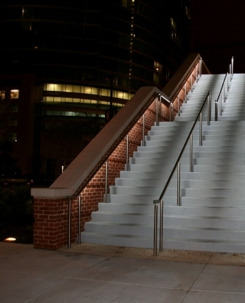 Led Hdi Railing Systems   Lighted Handrails For Stairs   Wood Hand Rail Design   Antique   Brushed Nickel   Modern   Acrylic