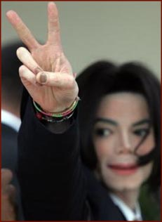 Michael Jackson's fingernails in 2005.