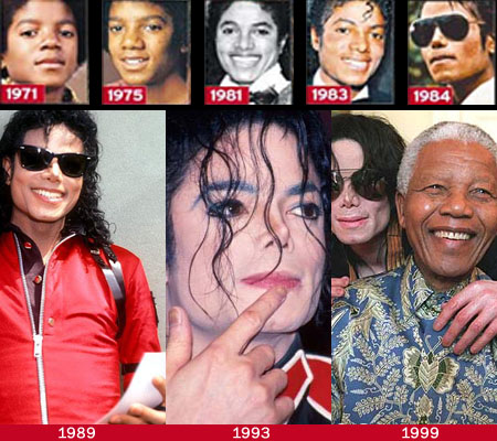 The fingernails of Michael Jackson: 1971 - 1984.