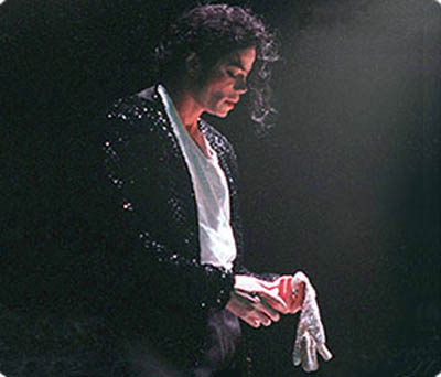Michael Jackson's single white hand glove was to cover his skin disease vitiligo.
