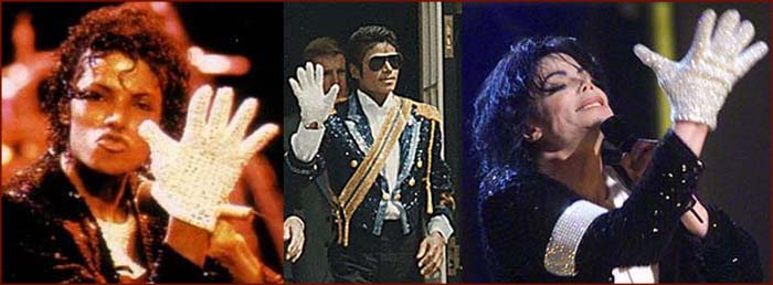 How Michael Jackson's single white hand glove became his trademark.