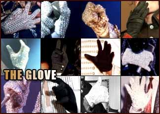 Michael Jackson: 'the hand glove'.