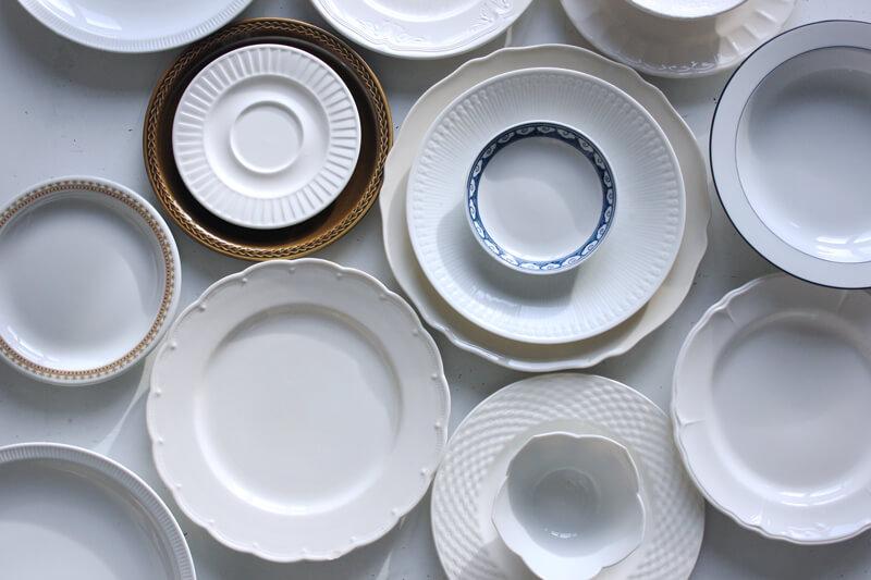 dinnerware, plates