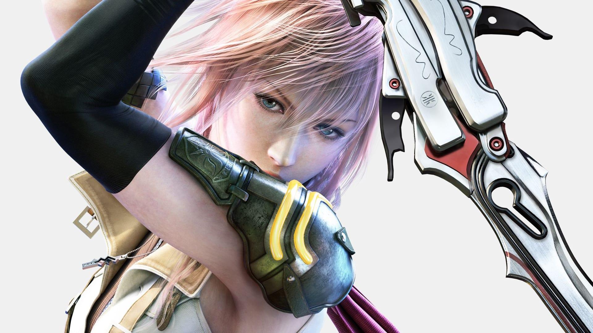 Tags: Anime, SQUARE ENIX, Final Fantasy XIII, Moogle, Lightning Farron,