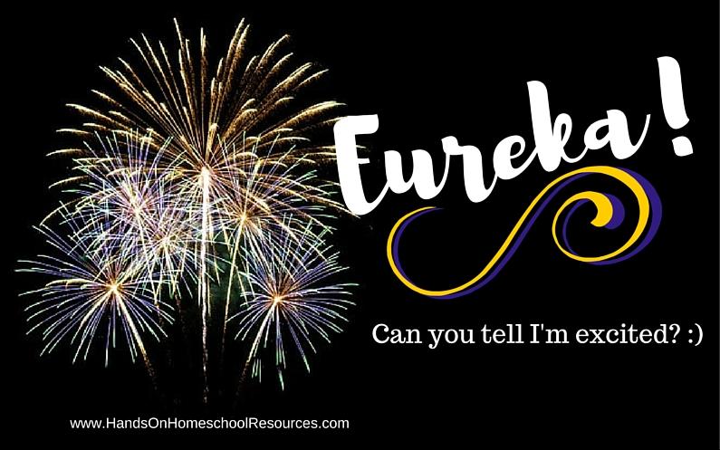 Eureka! I Found It!