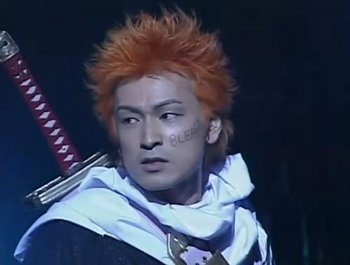 Masakazu Morita dressed as Ichigo Kurosaki