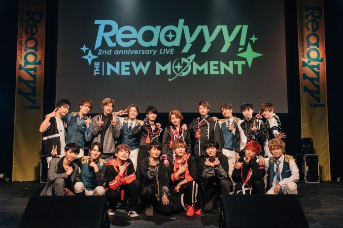 Readyyy! 2nd anniversary LIVE THE NEW MOMENT