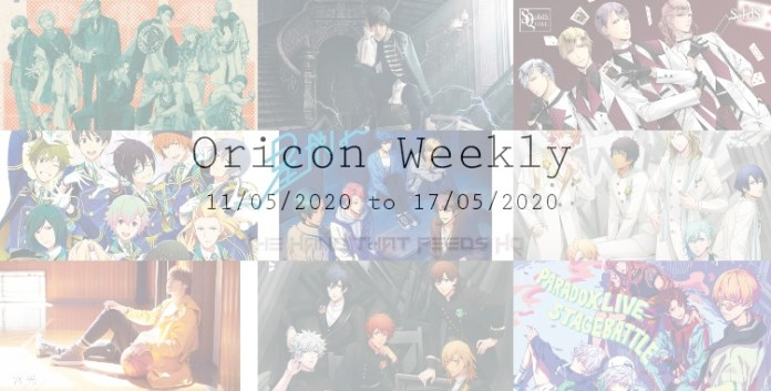 oricon weekly 2nd week may 2020