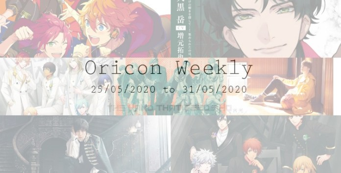 THTFHQ oricon weekly 4th week May 2020
