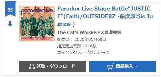 Paradox Live JUSTICE