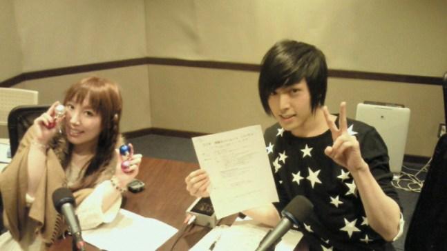 Radio Shingeki no Bahamut Baharaji: Shouta Aoi and Ayumi Tsuji