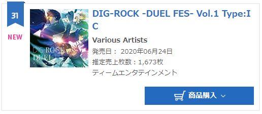 Impish Crow DIG-ROCK DUEL FES VOL.1 IC