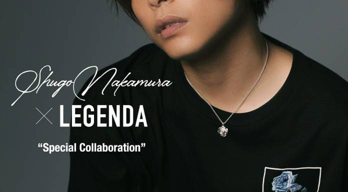 Shugo Nakamura LEGENDA collab