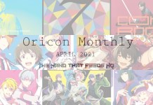 oricon monthly April 2021