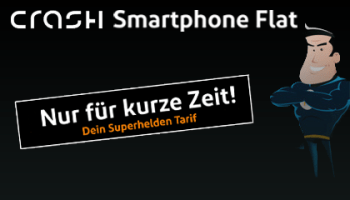 Crash Tarife Superhelden Smartphone-Flat 1000