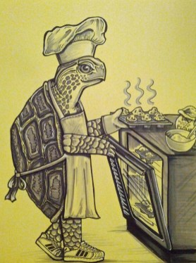 {turtle baker} day 55