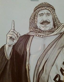 {the iron sheik} day 74