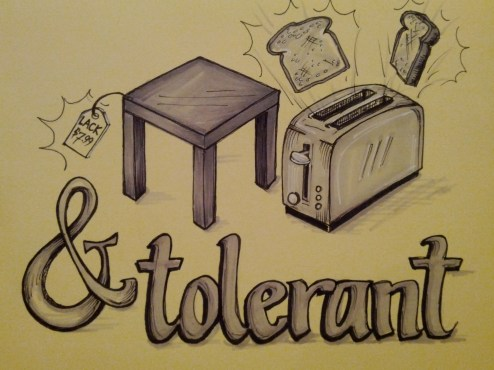 {lack toast and tolerant} day 92